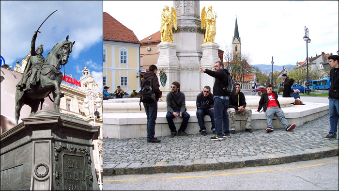 Sightseeing in Zagreb