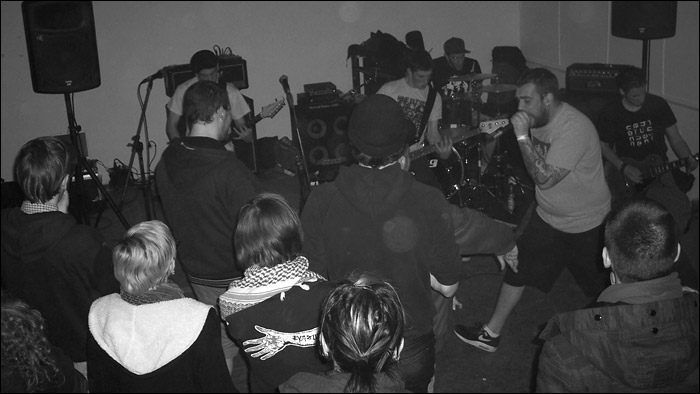 You Fail! moshing the place